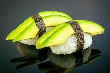 Nigiri Avocado (2 Stück)  mit Avocado