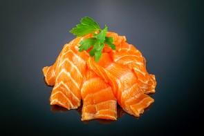 Sake Sashimi Lachs (8 Stück)  mit Lachs